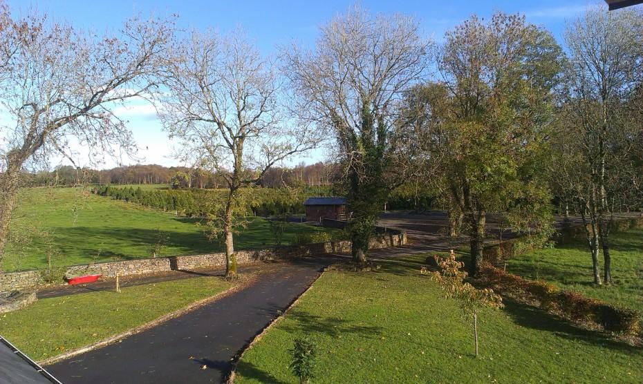 Entrance to our Meadow Lane Farm
